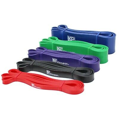 XPRT Fitness Pull Up Resistance Bands - Mobility Stretch Powerlifting 2