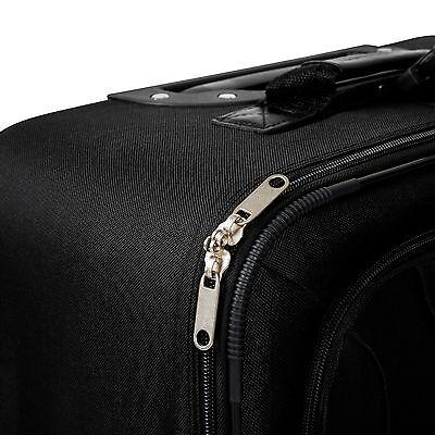 Conjunto de 4 Maletas Viaje Juego Set de maleta bolsa Trolley ruedas Negro Nuevo 8