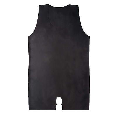 Latexbody Ouvert aus Rubber in schwarz, Einheitsgröße 7