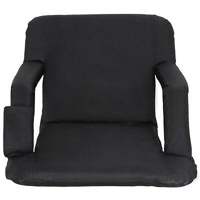 2 Pack Portable Football Stadium Seat Chair for Bleacher Backrest tilt 5 angels 6