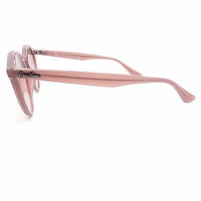 e880ac20896 ... Ray Ban RB 2180 6229 7E Opal Pink Silver Mirror Sunglasses New  Authentic 3