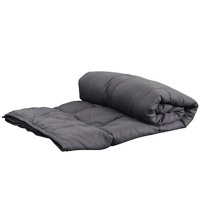 """60"""" x80"""" Weighted Blanket  Full Queen Size Reduce Stress Promote Deep Sleep 20lb 5"""