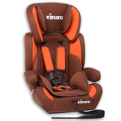 KIDUKU® Siège auto et Réhausseur pour enfants bébé Groupe 1 + 2 + 3 8