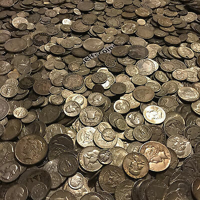 ✯1 Ounce OZ 90% SILVER US COINS $✯OLD ESTATE SALE LOT HOARD✯ BULLION +FREE GOLD✯ 7