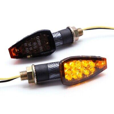 LED Motorcycle Turn Signal Indicators Lights For Honda XR650L XL600R CRF250L