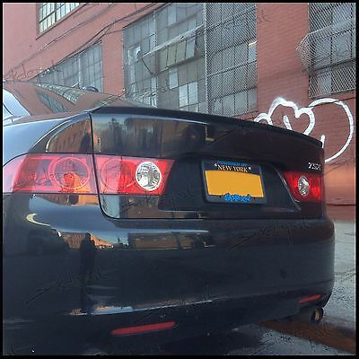 818L Fits: Acura TSX 2004-08 Rear Trunk Spoiler Lip Wing Unpainted USA