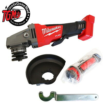 "Milwaukee M18CAG125XPD-0 125mm 5"" Fuel Brushless Angle Grinder Not US Import"