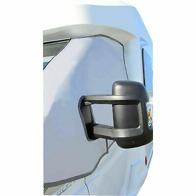 Motorhome External Thermal Screen Turn Down Cab Cover Ducato Boxer X250 2006 ON 3