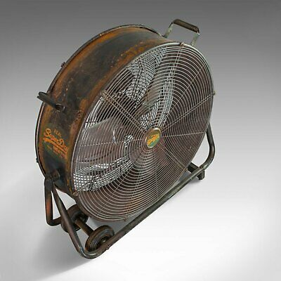 Large Floor Standing Fan, Powerful, Superdry Branded, Industrial Cooling 5