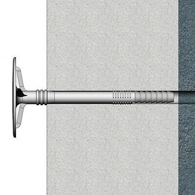 200 St. Stahlnagel Tellerdübel Dämmstoffdübel WDVS LFM Ø 8-10 (100mm-300mm) 5
