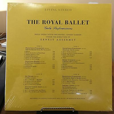 Royal Ballet Gala Performances  Ansermet, Nutckracker 2 Vinyl Lp's 180 Gram 2