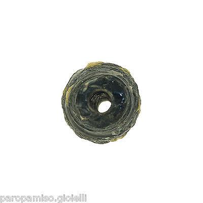 Early Islamic Glass Bead  -  DAMAGED  -  (0999) 6