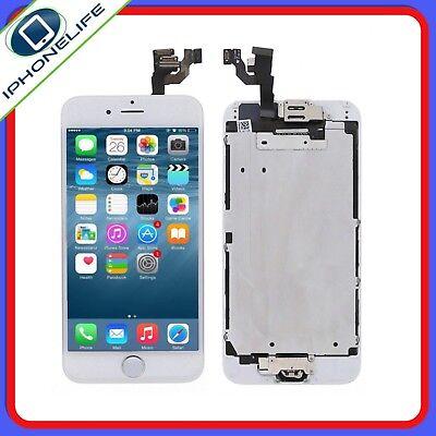 Bloc Complet Assemblée Chassis Vitre Tactile Ecran Lcd Iphone 6 Noir / Blanc 4