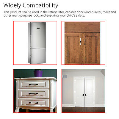 Baby Kid Child Box Drawer Cupboard Cabinet Wardrobe Door Fridge Safe Safety.Lock 5