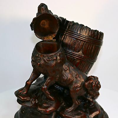 Carved Figures Fine Antique 19th Century Black Forest Carved Wooden Bavarian Farmer 9 Inches