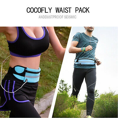 Running Belt Unisex Sport Jogging Phone Keys Mobile Money Bum Bag Waist Travel 2