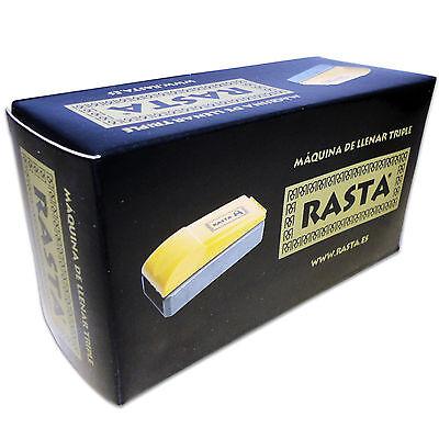 Maquina Triple Manual Liar Cigarro Vacio Tabaco Rasta Cigarette Rolling Machine 7
