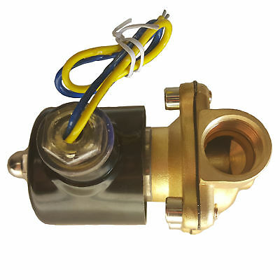 "HFS 110V Ac 1/2"" Electric Solenoid Valve Water Air Gas, Fuels N/C"