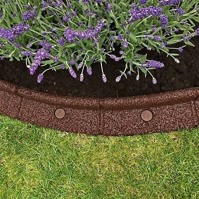 FlexiBorder - Lawn Edging - Flexible Garden Border for Grass & Pathways 5