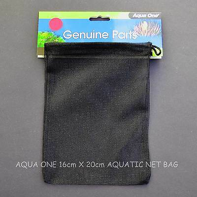 """"""" SPECIAL OFFER """" FIVE - AQUA ONE BAGS -GREAT FOR PURE POND BALLS  20cm X 16cm 7"""