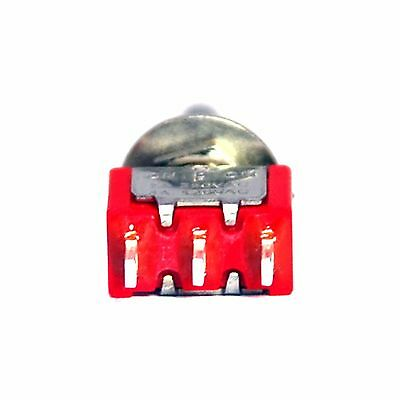 10pc Miniature Toggle Switch 1MS3T1B3M1QES On-Off-On 3P SPDT 2A250V 5A120V