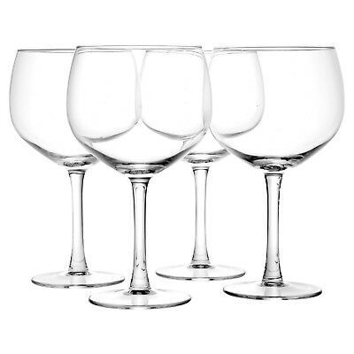 4 8 12 Large 650ml Gin & Tonic Balloon Cocktail Drinking Wine Glasses G&T Set 2