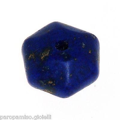 Lapis Lazuli Chinese Bead.   (0310) 8