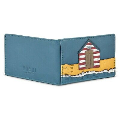 SPECIAL OFFER Oyster Card Holder by Yoshi Soft Leather Beach Hut Travel Pass