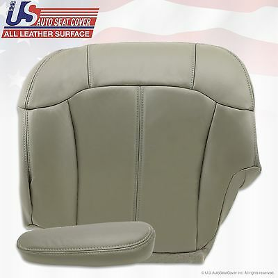 1999 2000 2001 2002 Chevy Tahoe Suburban Upholstery leather seat cover Gray 5