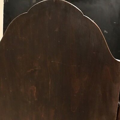 George 1st Ladys Walnut Dressing Mirror With Draws Stand 12