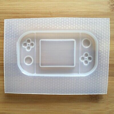 Handheld Game Console Plastic Mold Resin Molds Shaker Gamer UV resin mould 6
