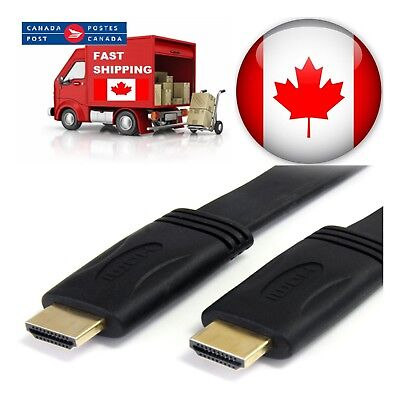 10ft 15ft 25ft 30ft 50ft High Speed HDMI Cable 1.4 Cable Audio/Video Gold-Plated 5