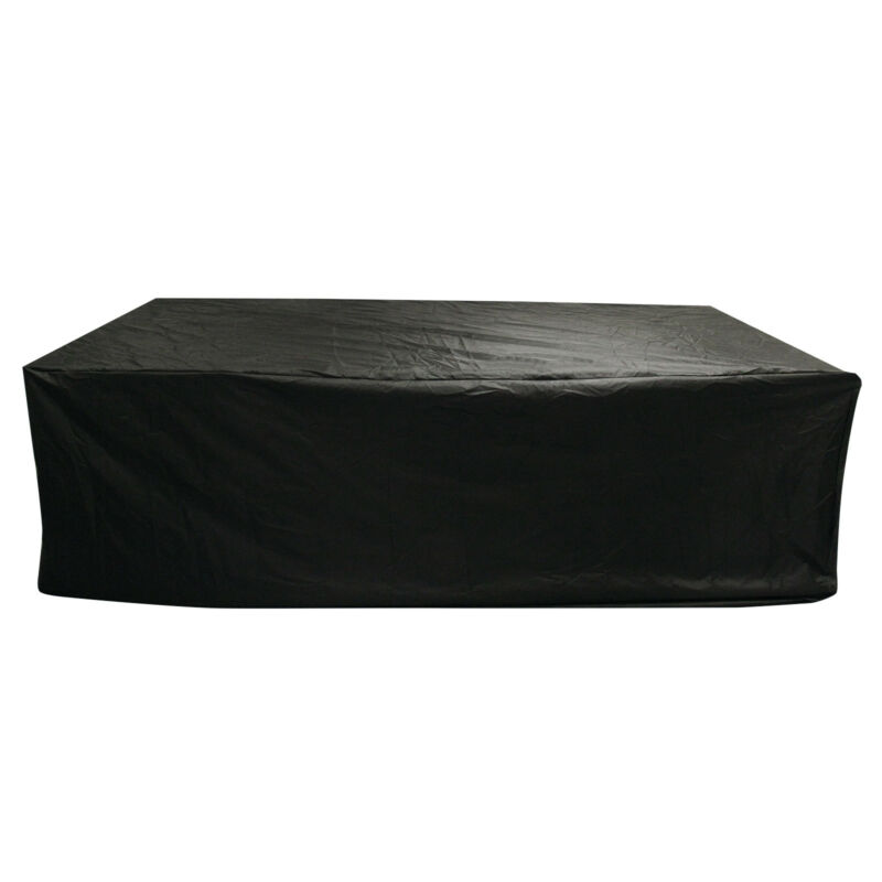 Extra Large Garden Rattan Outdoor Furniture Cover Patio Table Protection Black 6