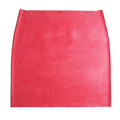 Latex Rock/ Mini aus Gummi in rot, Einheitsgröße 4