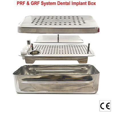 PRF&GRF RGF Box Implant Tray Implant Surgery+Bone Graft Compactor Dental 9PCS CE 4
