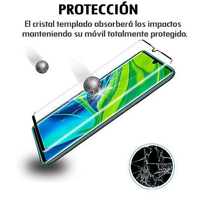 Protector Pantalla Xiaomi Mi Note 10 Cristal Templado Completo 3D Dureza 9H 3