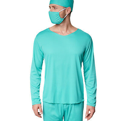 Herrenkostüm OP-Arzt  Halloween Kostüm Karneval Fasching Doktor Krankenhaus 4