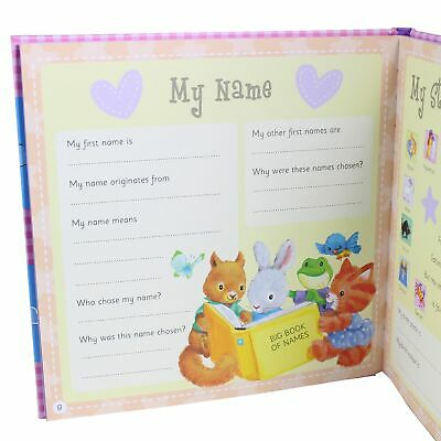 """""""My First Five Years"""" Baby Record Book; Baby Keepsake Diary 3"""