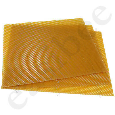 National Bee Hive Deep Brood Wired Wax Foundation Sheets Beekeeping Beehive 4