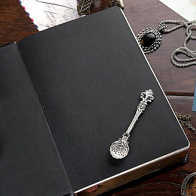 Top Quality Blank Diaries Journals Notebook Note Book Vintage PU Leather Cover 9
