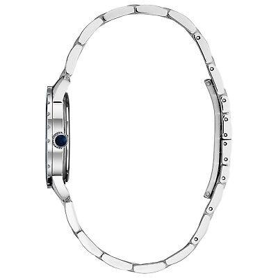 Bulova Women's Diamond Accents Quartz Blue Dial Bracelet 30mm Watch 96P195 2