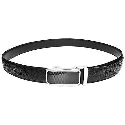 Falari® Men's Genuine Leather Dress Ratchet Belt 35mm Adjustable Size 7011 3