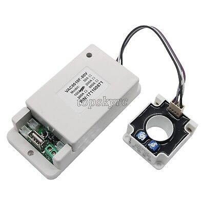 Battery Monitor Meter Wireless DC 120V 100A VOLT AMP AH Remaining Capacity LCD&& 3
