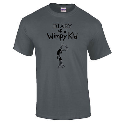 aa99cbbb6 ... Wimpy Kid World Book Day Support Diary T-Shirt Outfit Costume Kids  Adults 6