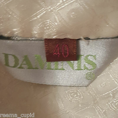Daminis Mens Groom Wedding Wear Cream Sherwani Small Used 40 indian pakistani 6