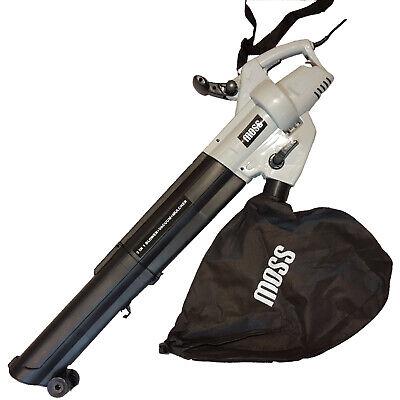 Leaf Blower 3in1 Garden Vacuum Shredder 45L Bag 10m Cord 3000w Leafblower 3