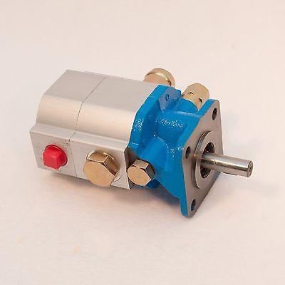 11 GPM Hydraulic Log Splitter Pump, 2 Stage Hi Lo Gear Pump, Logsplitter, NEW 10