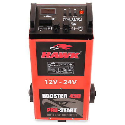 2000W 12V 24V 400a AMP CAR VAN 4X4 BATTERY CHARGER GARAGE JUMP START STARTER KIT 5