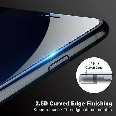 2XAnti Scratch Tempered Glass Screen Protector Apple iPhone XS Max XR 8 7 Plus 6 3