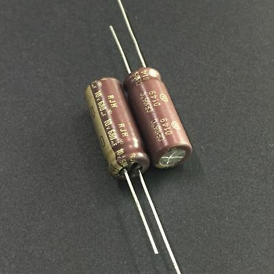 50pcs 680uF 10V Japan ELNA RJH 10x16mm 10V680uF Low Impedance Audio Capacitor